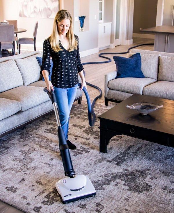 Hide A Hose central vacuum system